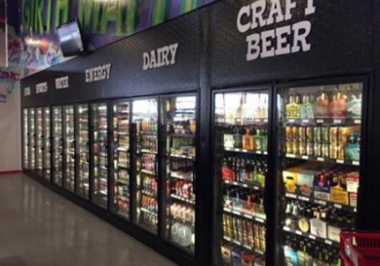 Completed c-store refrigerated storage designed by C-Plus