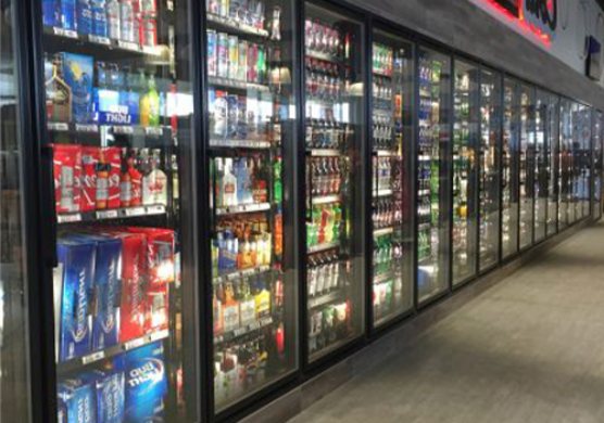 Custom refrigeration installed by C-plus in Blair, Nebraska